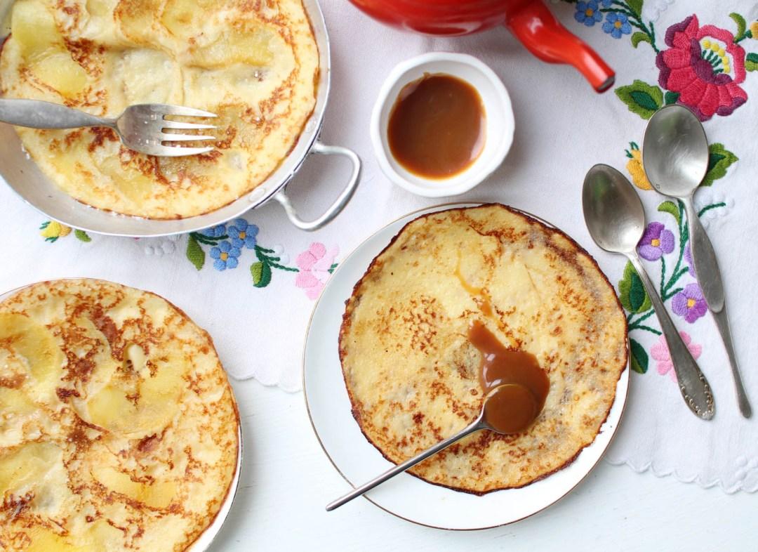 crepe epaisse pommes facile recette