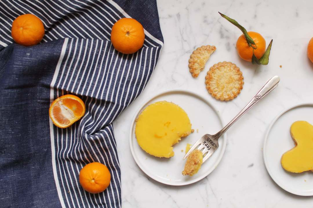 tartelettes mandarine recette facile biscuits