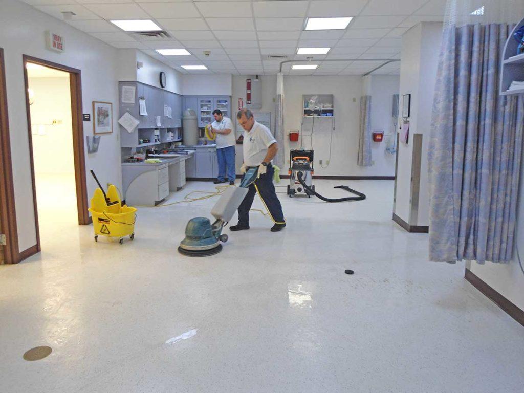 limpieza de instituciones