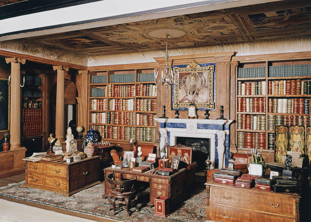Queen Mary's Dolls' House Library.