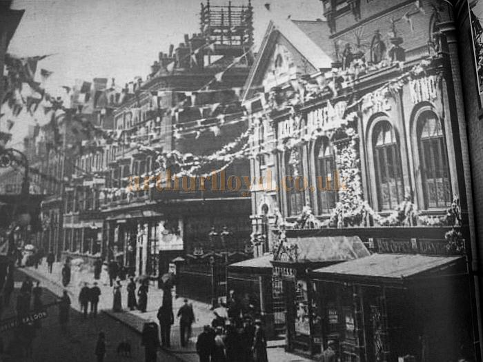 Royal Court Theatre during coronation of King Edward