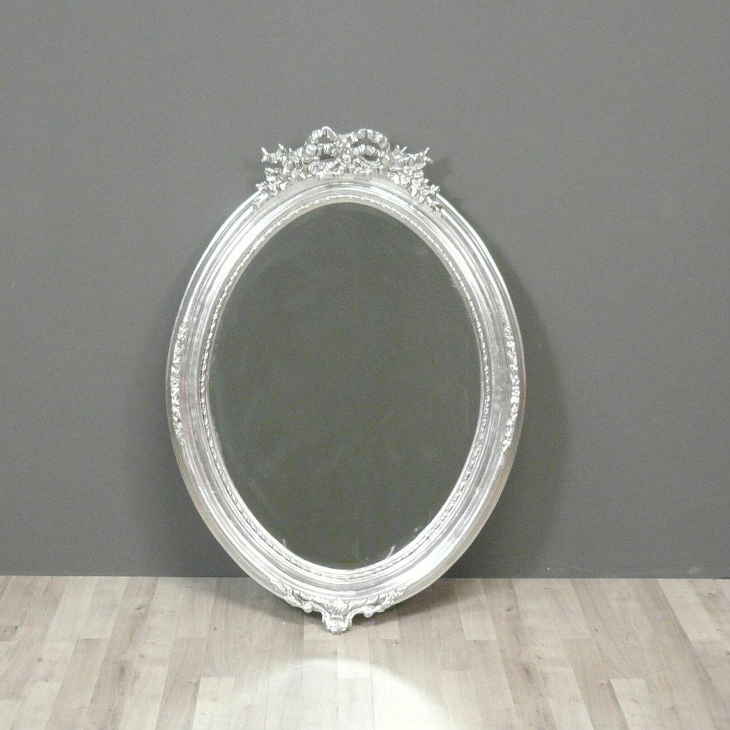 Miroir baroque argent  Miroir Louis XV  Meuble baroque
