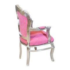 Pink Arm Chair Infant Chairs Sit Up Baroque Armchair And Silver Tiffany Lamp Bronze