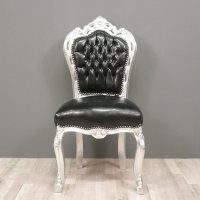 Black baroque chair - Armchairs