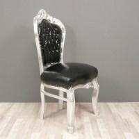 Black baroque chair - Armchairs