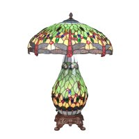 Tiffany lamp dragonfly - Sconce art deco