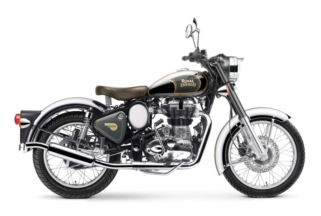 Royal Enfield World Classic efi 500 chrome grau