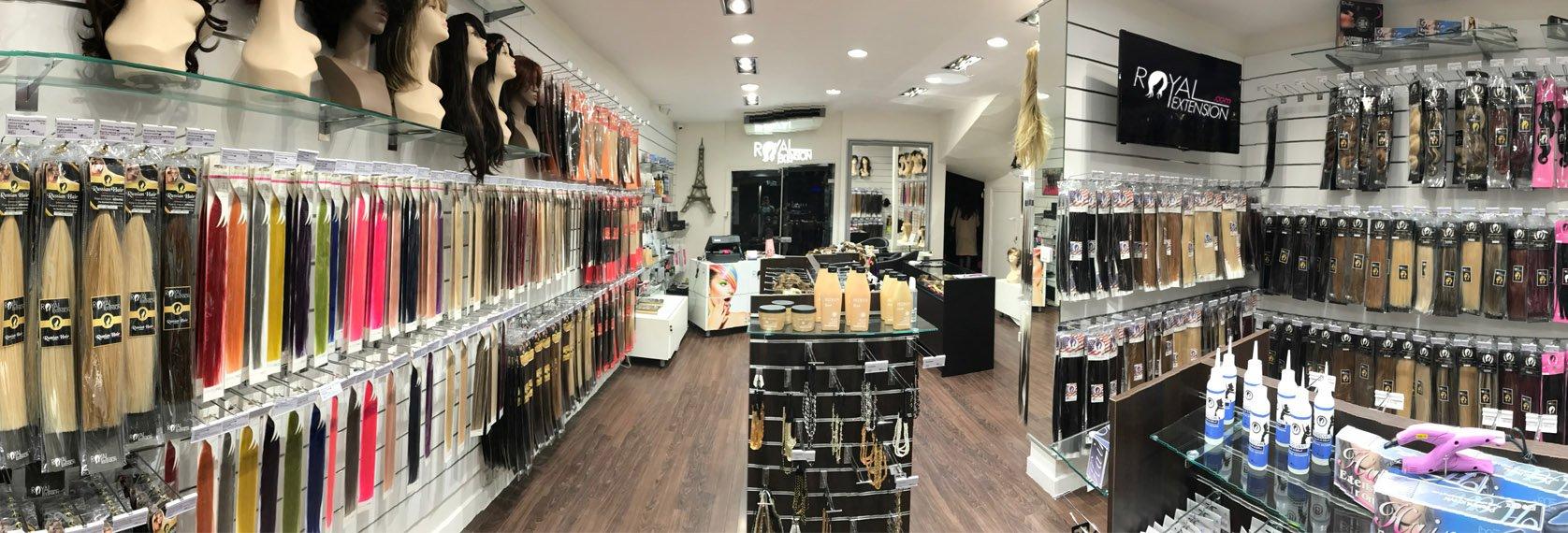 Nos magasins  Royal Extension