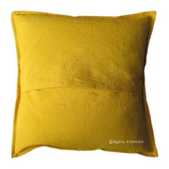 Large Square Sofa Cushions Luxury Sofas Great Shelford 20x20 Quot Yellow Mirrored Accent Indian Throw