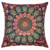 Blue Orange Throw Pillow ~ Acinaz.com for