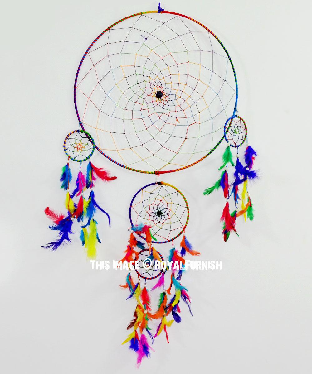 multi boho colors handmade