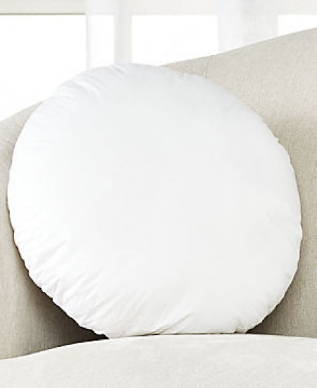 18 inch round floor pillow insert filled with polyester form cushion