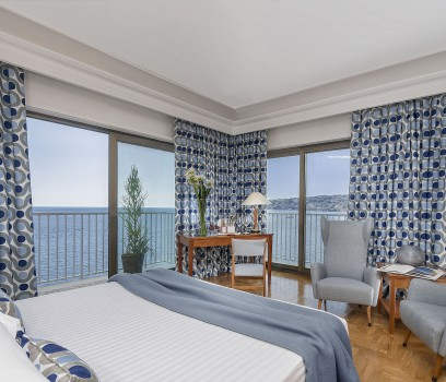Seafront 4 star hotel in Naples Italy  Royal Continental