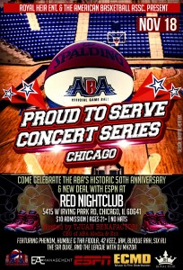 ABA and Royal Heir Entertainment chicago event