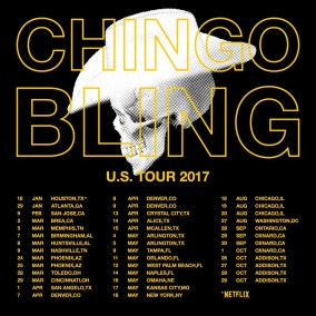 Chingo Bling - Me Vale Madre tour schedule (Royal Heir Ent)