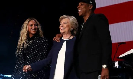 We recorded Video for Jay-Z/Beyonce performance at Hillary Rally in Cleveland!