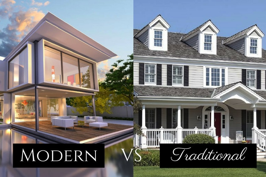 Difference Between Traditional and Modern Homes  Royal Homes