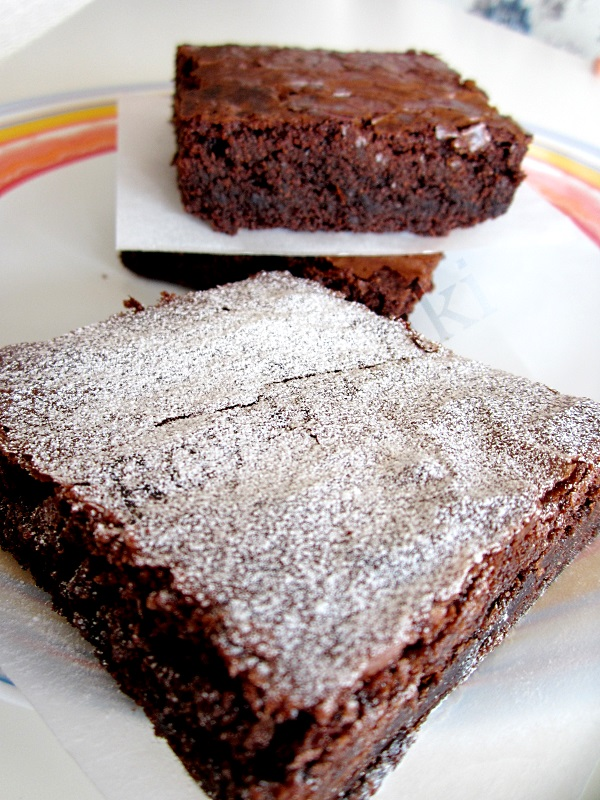 Nutellalı brownie