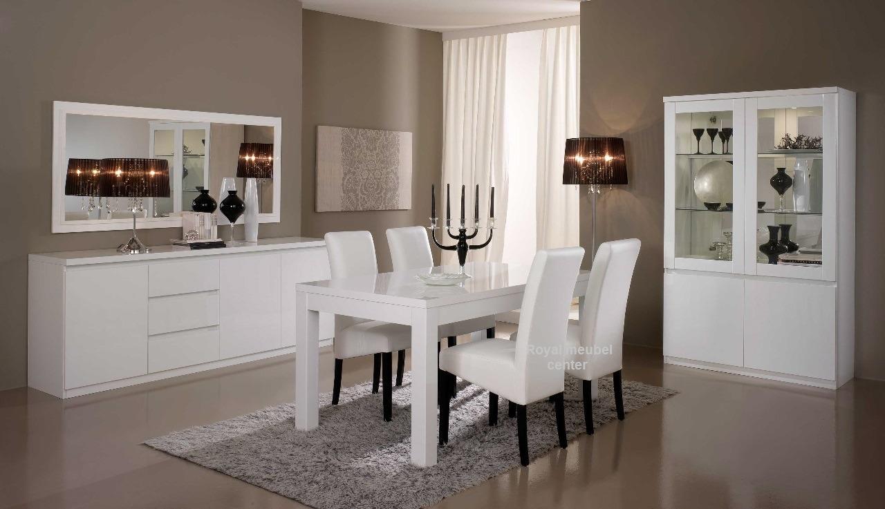 Woonkamer meubel Forever hoogglans wit  Complete