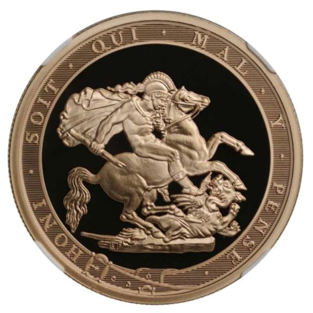2017 Elizabeth II Piedfort Proof Sovereign