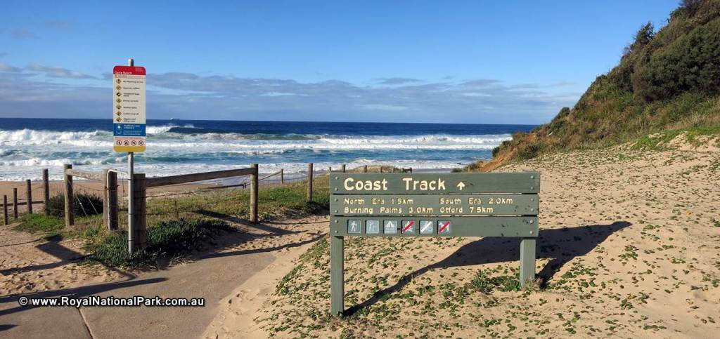 Royal National Park - Walking Track Garie Beach