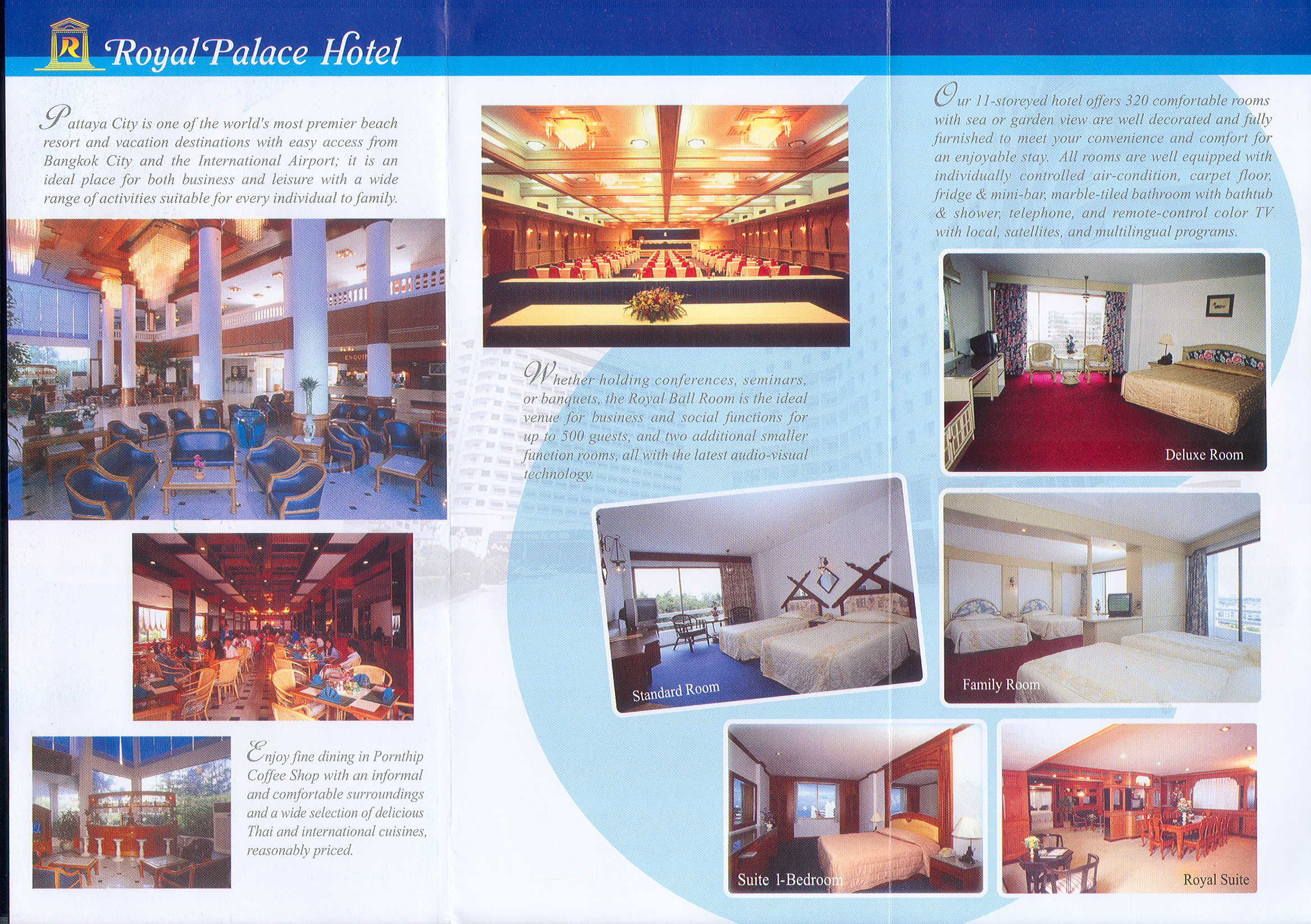Pattaya Accommodation Thailand Royal Palace Hotel