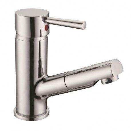 schutte robinet mitigeur lavabo cornwall douchette extractible