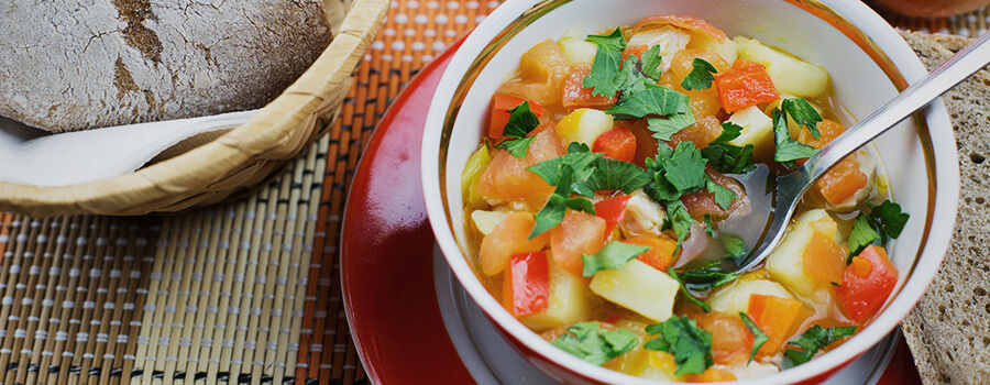 Winter Vegetable Canna Soup