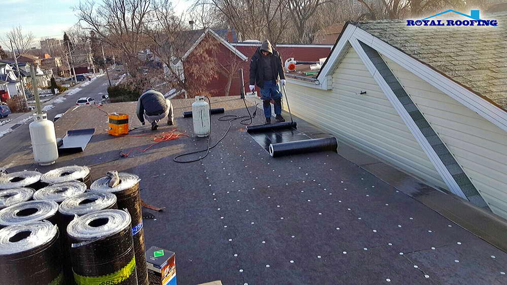 Rolled Roofing Installation in GTA