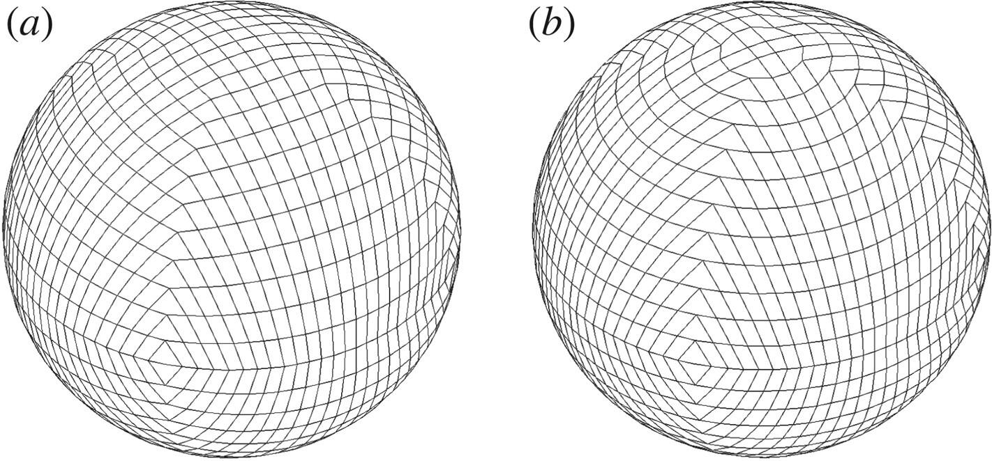 Logically rectangular finite volume methods with adaptive