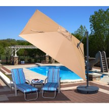 Cantilever Umbrellas Royal Swimming Pools