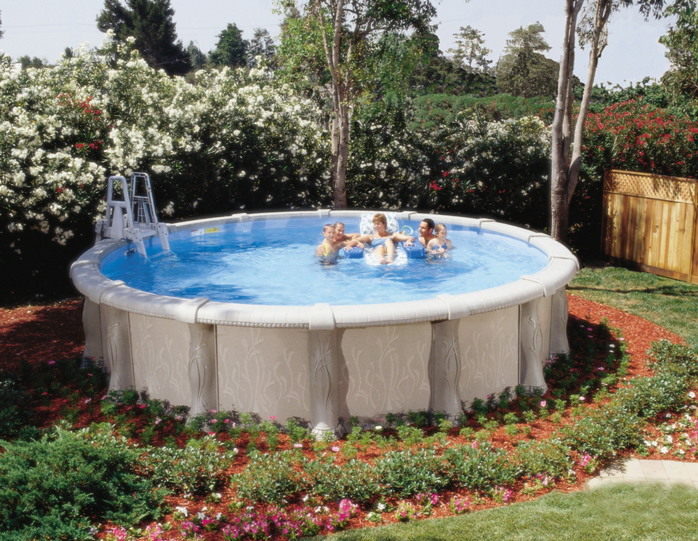 Doughboy Tuscany Above Ground Pool Kits