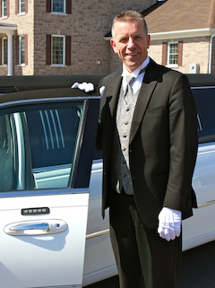 photo: Ed De Jong, owner and chauffeur