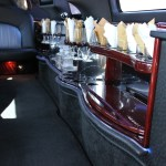 Tuxedo Stretch Lincoln Navigator Interior Bar