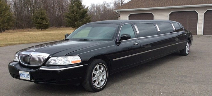 2011 All Black Stretched Limousine