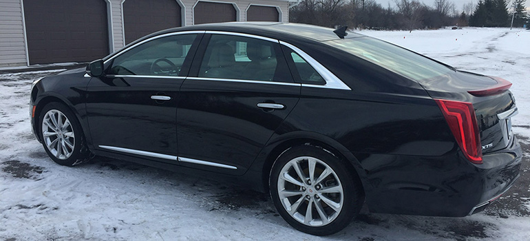 2013 Cadillac XTS - driver side view