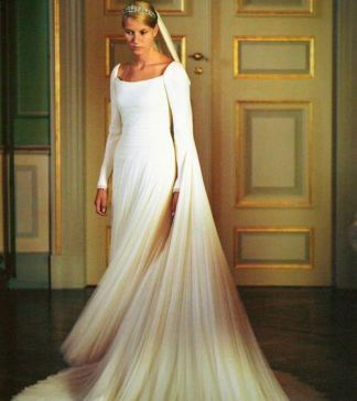 Mette-Marit Wedding Dress 3