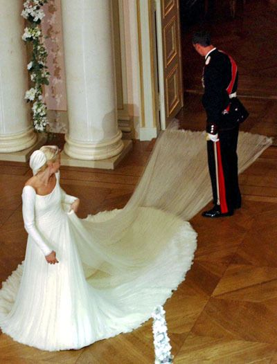 Mette-Marit Wedding Dress