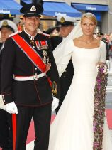 Crown Prince Haakon and his bride