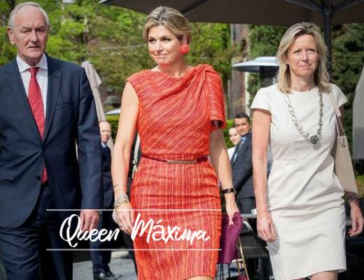 Queen Máxima attends symposium