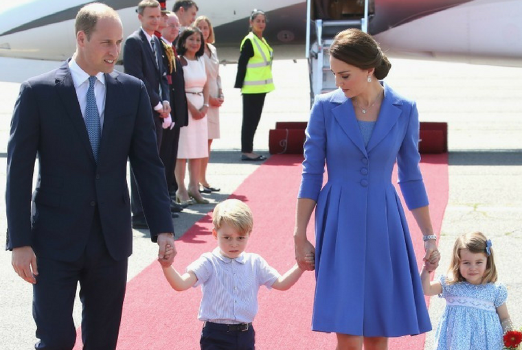 Prince William and His Family on a Royal Goodwill Tour