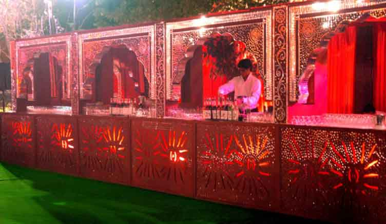 Catering for Royal Wedding IndiaCatering at Raj Palace
