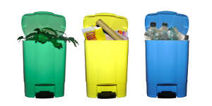 Des déchets mal organisés