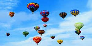 Un tour de montgolfière