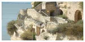 Les maisons troglodytes de l'estuaire de la Gironde