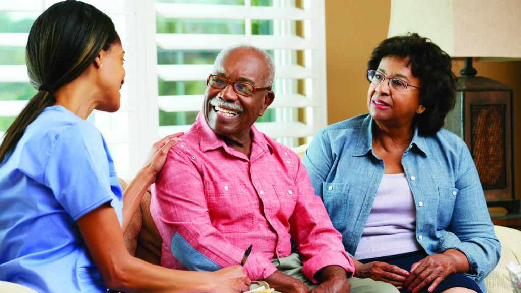 Your lung cancer team will talk through your treatment options