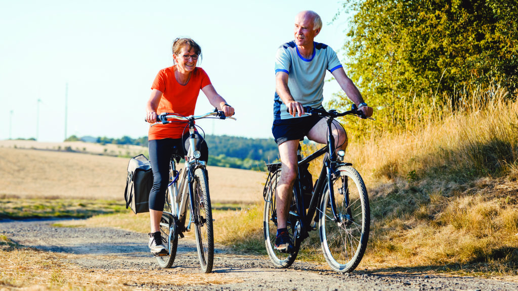 Cycling is a great way to get fit and reduce air pollution