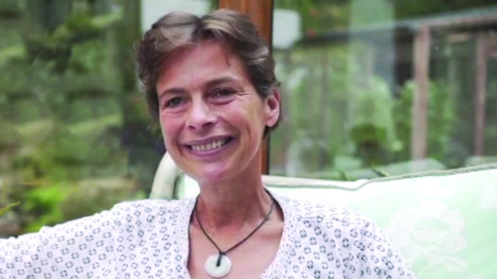 Jane is living with lung cancer
