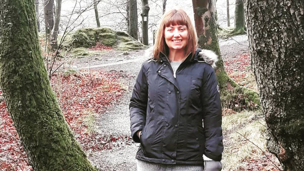 Mags was just 47 when she was diagnosed with advanced lung cancer