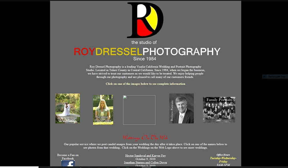 RoyDresselPhoto.com Twenty Years of the Website